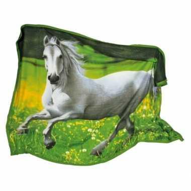 Paarden fleecedeken