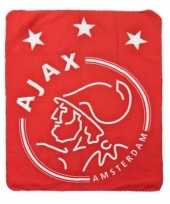 Fleece deken ajax 130 x 170 cm