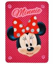 Minnie mouse fleecedeken model 1