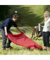 Opvouwbaar fleece picknickdeken